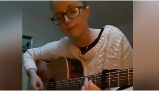 Watch: Maria pens heartfelt song about Tory Island ferry controversy