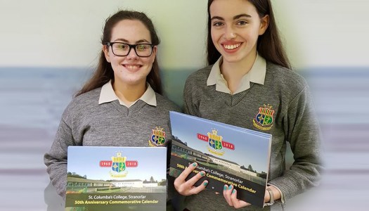 Stranorlar students' calendar business goes global within months