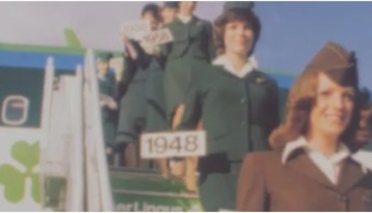 High-flying fashion: 70 years of Aer Lingus uniforms