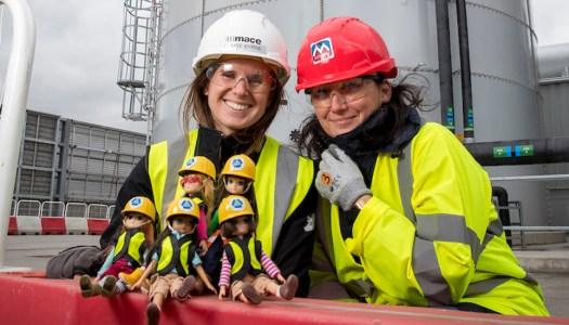Lottie gets to work highlighting women in construction