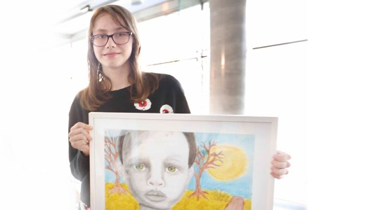 Events: Gifted Donegal girls win Junior Painter Awards