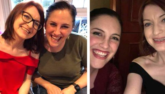 Brave best friends take on amazing challenge for Autism