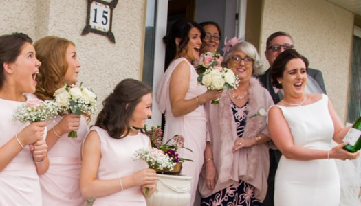 Wedding Album: Love and laughter on Laura and Fabian's big day