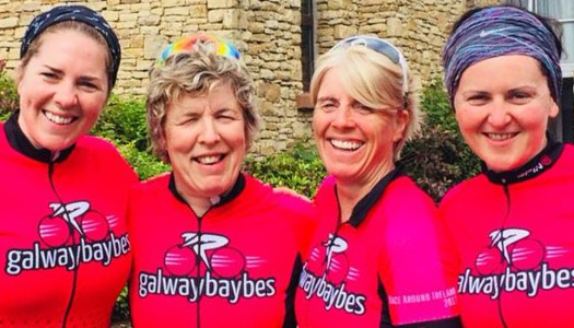 Galway Baybes get ready to race the Donegal Atlantic Way Ultra 555k