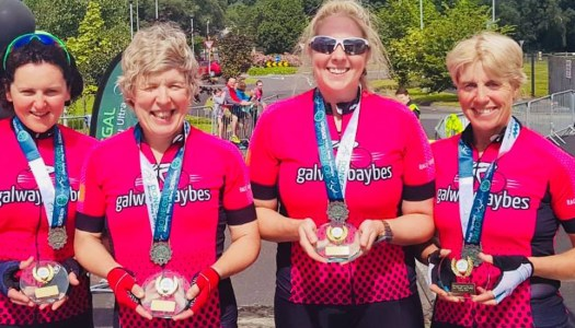 Galway Baybes set new record in Donegal Ultra 555k