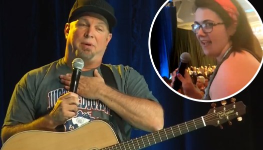 Local fan springs new hope by asking Garth Brooks about Irish return