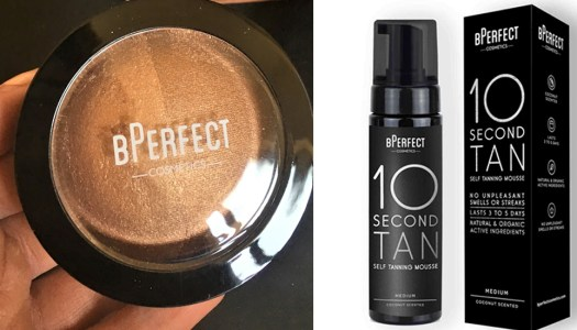 Review: Sunkissed shimmering with BPerfect Golden Glow