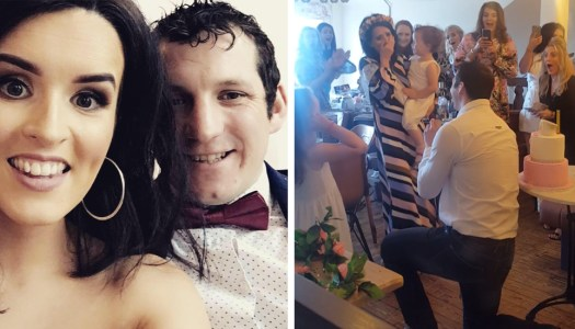 Watch: Donegal mammy steals the show during surprise proposal!