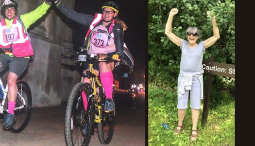 Cycling for Solace and for a much-loved mum