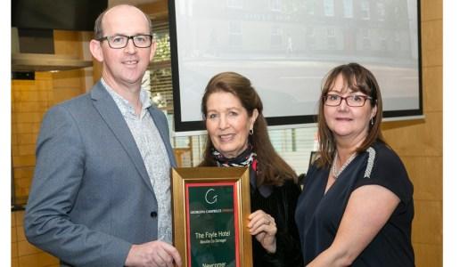 Chef Brian and Brenda McDermott taste success at the Georgina Campbell Awards