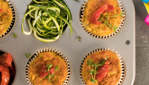 Recipe: Little lunchbox vegetable muffins