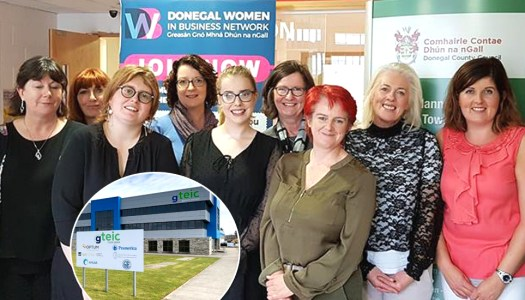 Local 'mná' networking together in the Donegal Gaeltacht