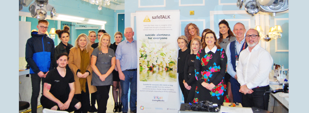 Patrick Gildea Hairdressing lead the way with suicide awareness training