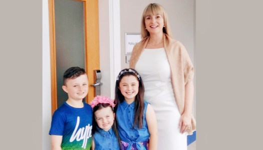 TV stardom in store for these Stranorlar siblings!