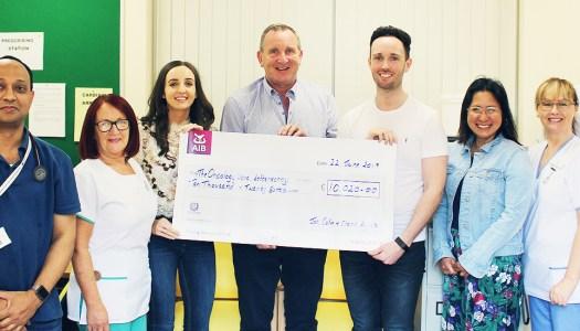 €10,000 raised for Letterkenny Hospital in memory of St. Johnston mum