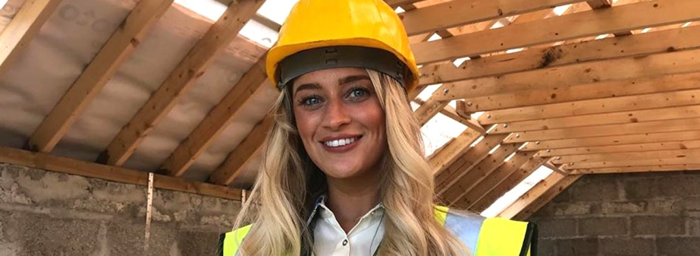 Dearbhla builds on Miss Universe Donegal role to inspire women in construction