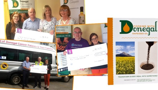 Donegal Rapeseed Oil charity cookbook raises €6,000 for three worthy causes