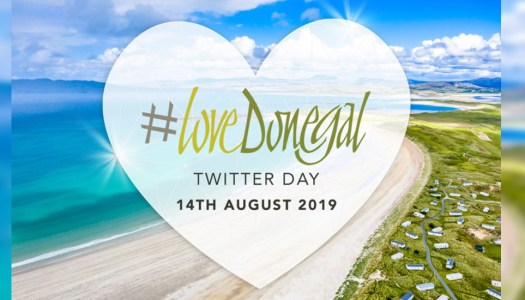33 million people caught the buzz of #LoveDonegal Day