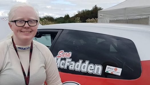 Ireland's first visually-impaired competitor bids for rally glory in Donegal