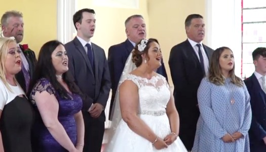 Watch: Donegal bride's flash mob amazes wedding guests