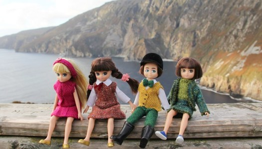 Donegal's favourite doll travels the county in style