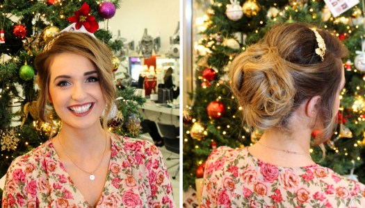 Winter updos at Patrick Gildea Hairdressing: Just add sparkle
