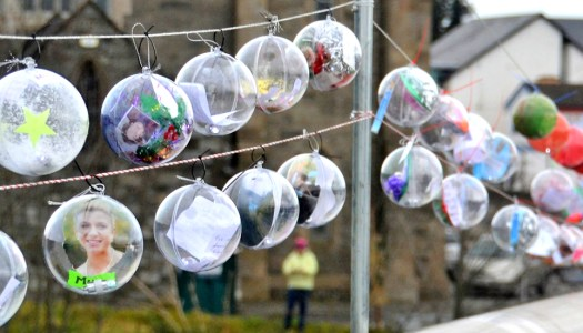 Bauble display to celebrate women of the Twin Towns