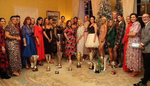 Events: Patrick Gildea Hairdressing Team celebrate successes at Christmas