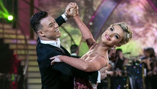 Flawless Grainne earns first 30 of Dancing with the Stars season
