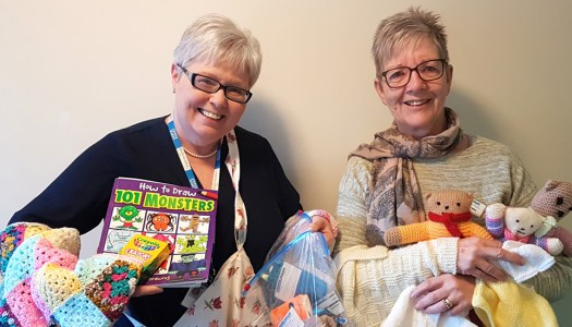 Local mothers kindly donate trauma teddies to hospitals