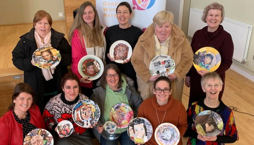 'Mighty Women' celebrated in commemorative plate display