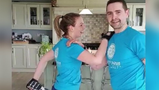 Donegal duo leading live kitchen workouts
