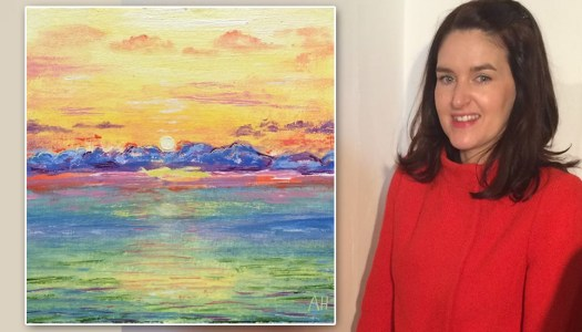 Donegal artist inspired to paint for Pieta House