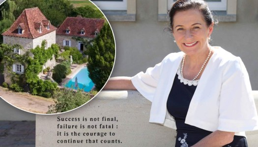 Idyllic France awaits for Deirdre's new business adventure