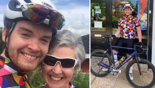 Delight for Donegal mammy after son cycles 475km for a home visit!