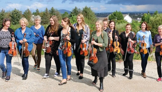 Donegal's SíFiddlers get in tune for first-ever broadcast