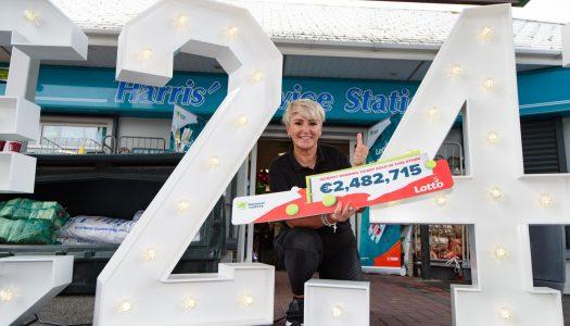 Convoy celebrates €2.5M Lotto win