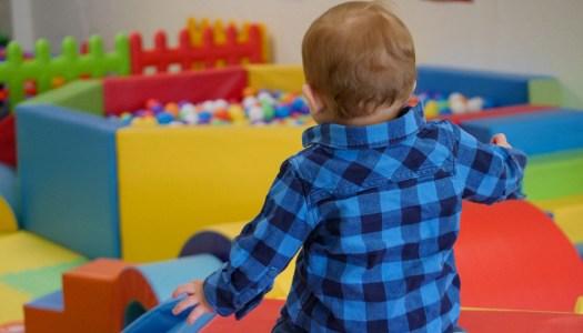 Thoroughly Modern Mammy:  The joy of soft play