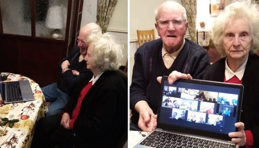 Celebrations go digital for special couple's 60th wedding anniversary