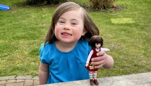 Doll with Down syndrome joins Lottie collection