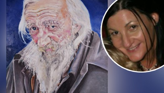 Donegal artist hopes to help the homeless with stunning portrait