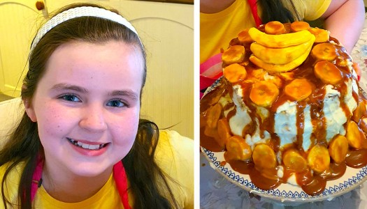 Schoolgirl Clíodhna's delicious dessert is a winner