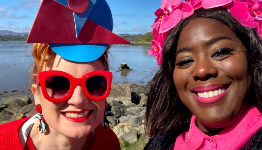 Showbiz celeb Nadine Reid settles into Donegal life in style!