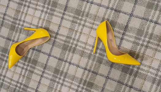 Thoroughly Modern Mammy: Dusting off the heels… to go to the dustbin
