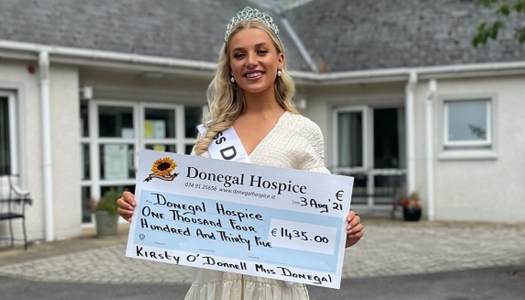 Miss Donegal Kirsty proud to support Donegal Hospice