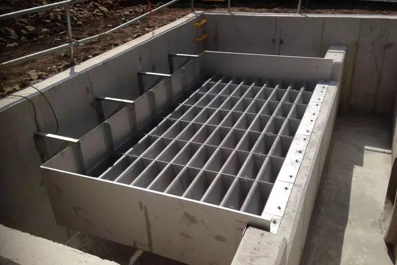 Reinforced concrete build