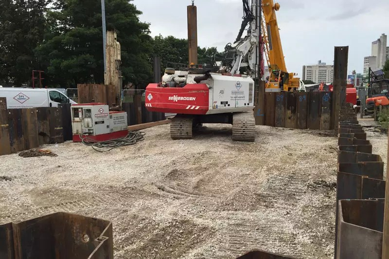 Sheet Piling for excavation