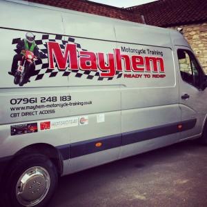 Mayhem Motorcycle Tuition