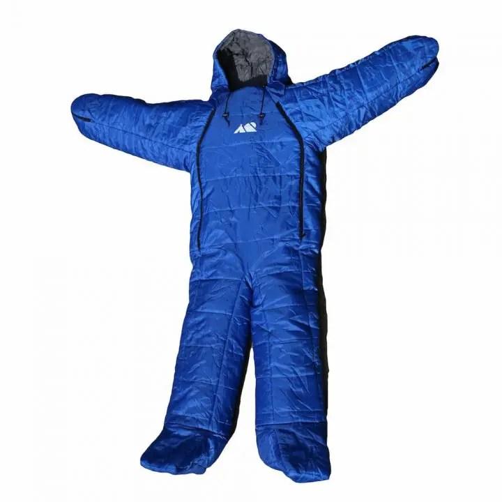 Don Hardware wearable sleeping bag suit