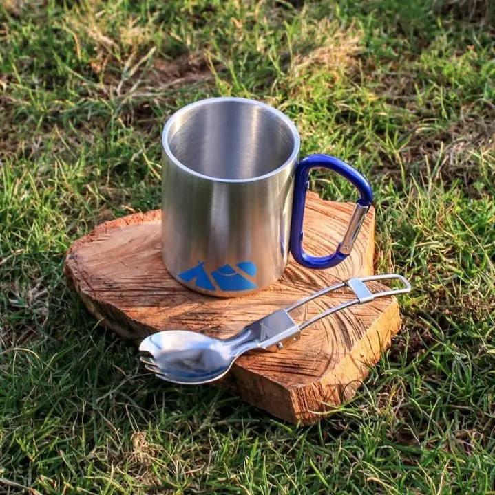 Don Hardware Outdoor mug and spork
